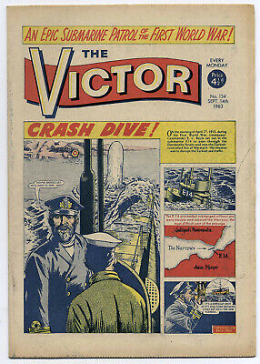 The Victor 134 (September 14, 1963) very high grade copy