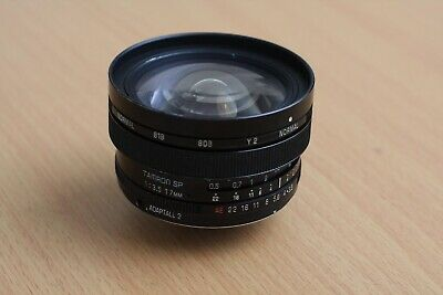 Vintage Tamron 17mm f/3.5 51B SP Lens Ultra Wide Angle Adaptall-2 Parts/Repair