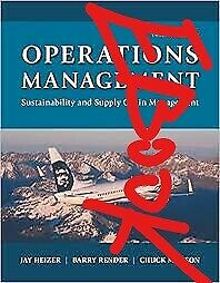 Operations Management Sustainability and Supply Chain Management 12 [P-D-F]