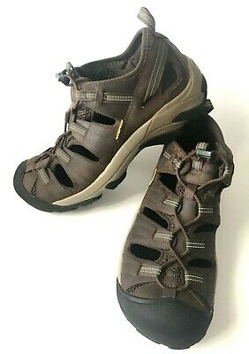 952e59f3efc4 Men s Keen ARROYO II 1002427 Hiking Waterproof Sandals Shoes Leather Size  10.5