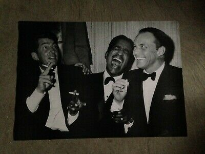 THE RAT PACK POSTER 23.5x33 Carnegie Hall 1965 Sinatra, Dean Martin, Sammy Davis
