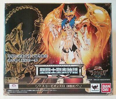 Saint Seiya BANDAI EU Myth God Cloth EX SOG Scorpio Milo Soul of Gold SEALED