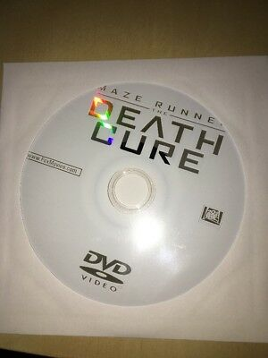 NEW Authentic US Fox Maze Runner The Death Cure (2018) DVD DISC ONLY - FREE