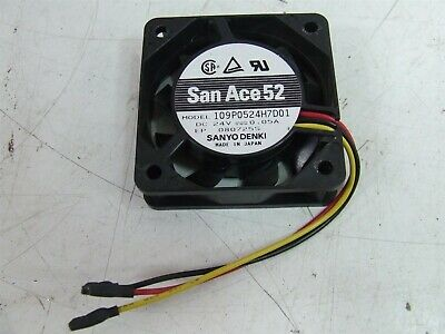 Sanyo Denki San Ace52 109P0524H7D01 24VDC 0.05A Fan *NEW*