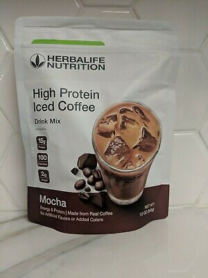 New Herbalife High Protein Iced Coffee Mocha, Fast Free Delivery