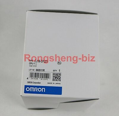 Omron Programmable Controller CJ1M-CPU21 CJ1MCPU21 PLC Brand New In Box