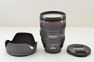 """EXCELLENT"" Canon EF 24-105mm F4L IS USM AF Zoom Lens for EOS EF Mount #190222h"