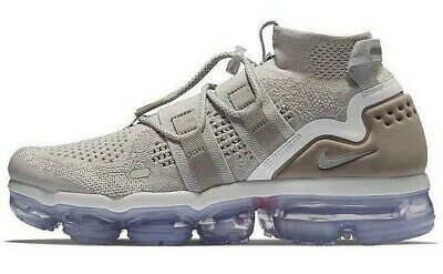 "Nike Air Vapormax Flyknit Utility ""moon Particle"" Size 10.5 New (Ah6834-205)"