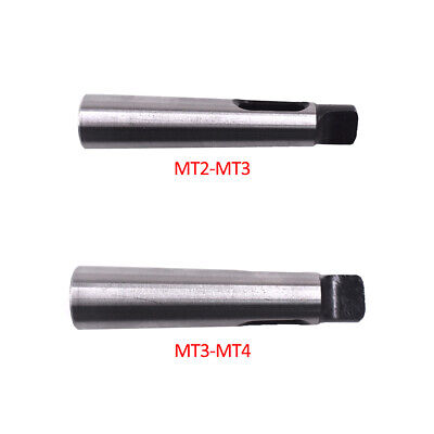 Lathe Milling D25-MT2 Arbor Morse Taper Adapter Reducing Drill Sleeve
