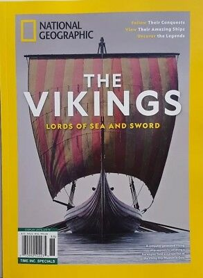 National Geographic The Vikings Lords of Sea and Sword FREE SHIPPING CB