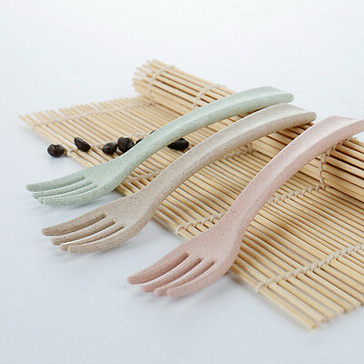 Baby Safety Feeding Food Fork Baby Infant Environmental Flatware Fork  Jc