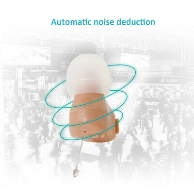 In Ear Invisible Meilleur Son Amplificateur Aides Auditives Aides Réglables I4P5