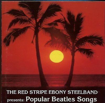 The Red Stripe Ebony Steelband / Popular Beatles Songs - Made In West Germany