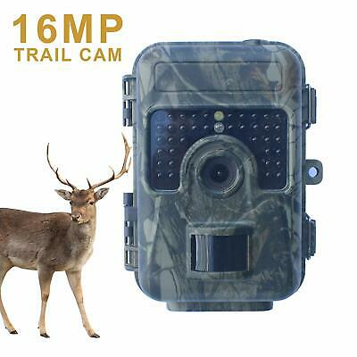 1080P HD 12MP Hunting Trail Camera Digital Wildlife Scouting IR Night Vision Cam