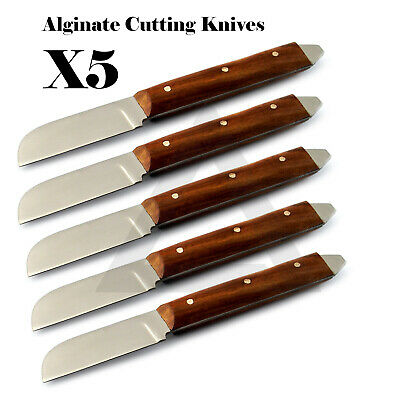 X5 Dental Wax And Modeling Alginate Plaster Knife Set Of 5 Laboratory Tools