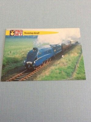 1992 Pro Set Facts & Feats Card - Railway Record LNER Mallard WB1