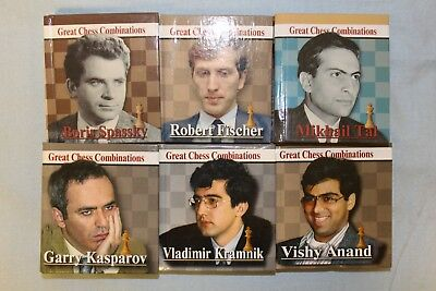 Russian Chess Minibook Collection Great Chess Combinations. All 6 books