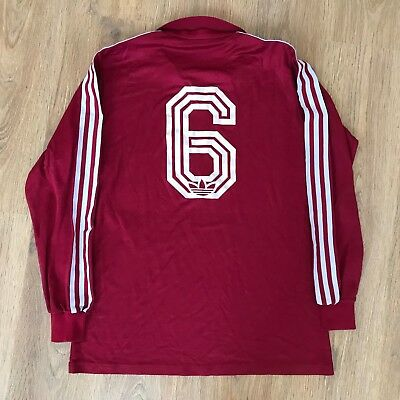 Adidas vintage 80s made in West Germany Servette template football shirt size L
