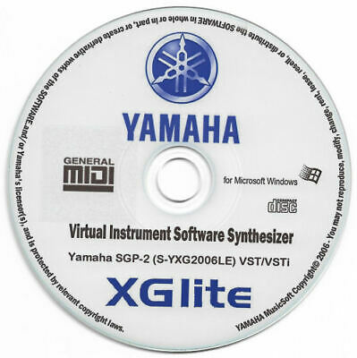 Yamaha XGLite SGP2 (S-YXG2006LE) VST Virtual Instrument Software Synthesizer