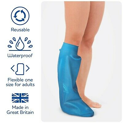 Bloccs Waterproof Protector for Casts & Dressings- Adult Short Leg