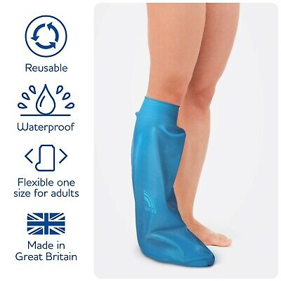 Waterproof Protector for Casts & Dressings- Adult Short Leg- Bloccs