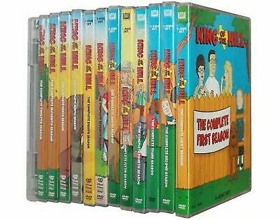 KING OF THE HILL SEASONS The Complete Series Collection Season 1-13 BRAND