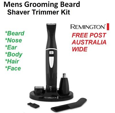 Cordless Mens Shaver Hair Trimmer Beard Grooming Kit Travel Shave REMINGTON NEW