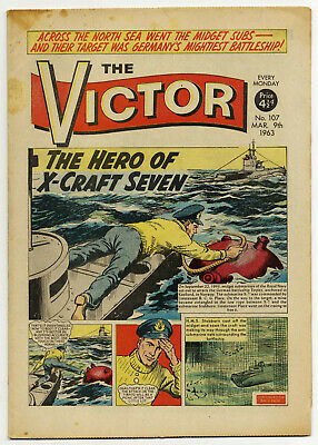 The Victor 107 (March 9, 1963) high grade copy