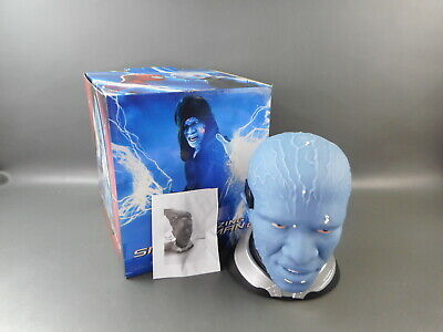 The Amazing Spider-Man ELECTRO HEAD Gift Set Blu-ray DVD 3-Disc LIGHT'S UP Rare