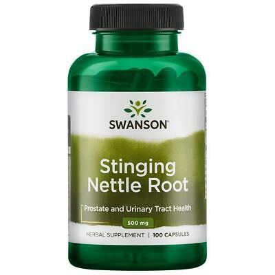 Stinging Nettle Root 500mg x 100 Capsules (Urtica Dioica) Swanson