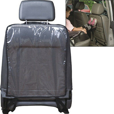 Car Auto Seat Back Protector Cover Kids Children Kick Mat Mud Clear Anti-dirty z