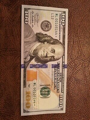 100 DOLLAR BILL *STAR EDITION* 2013 Series FEDERAL RESERVE NOTE