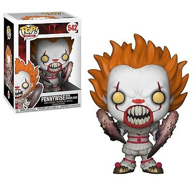 Funko - POP Movies Horror Vinyl Figure IT Pennywise with Boat a #542