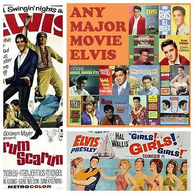 Elvis Presley The Complete Movie Collection Every Movie In One Place on 16 DVDS