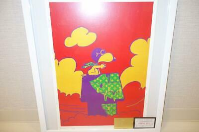 DETH NYC Snoopy × Vuitton Poster 2017 limited 100 Size 450×320mm Rare Collector