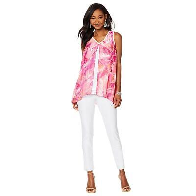 f1b6ab4d406 SLINKY BRAND 2PC Printed Velvet Tunic and Solid Pant - $26.99 | PicClick