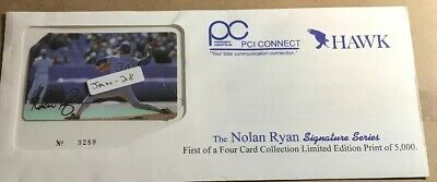 1994 Nolan Ryan Signature Series Phone Card LE