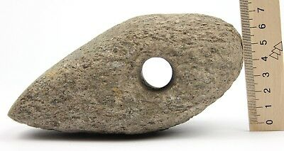 Rare Ancient Battle Stone Axe Hammer Neolithic Early Bronze Age 4 - 3 century BC