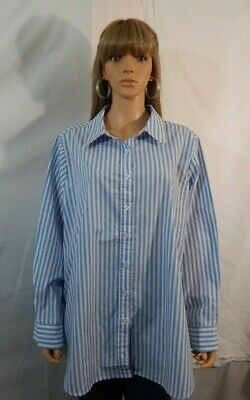 7ca4a8906cf NWOT Women s Woman Within Size 1X 22 24 Top Shirt Blouse Casual Work Clothes