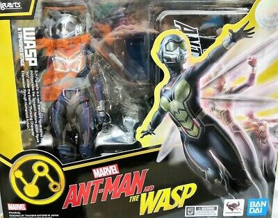 IN STOCK! Bandai S.H.Figuarts Marvel AntMan and The WASP with tamashii stage USA