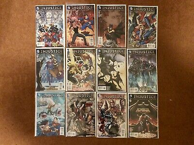 Injustice Gods Among Us: Year Four #1-12 Complete DC Comics 2015