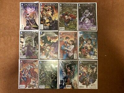 Injustice Gods Among Us: Year Three #1-12 Complete DC Comics 2015