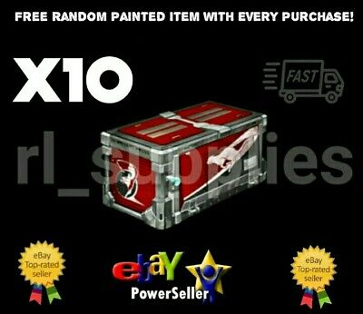 NEW 10 x Ferocity Crate Rocket League for Xbox One Decals Cars FREE Painted item