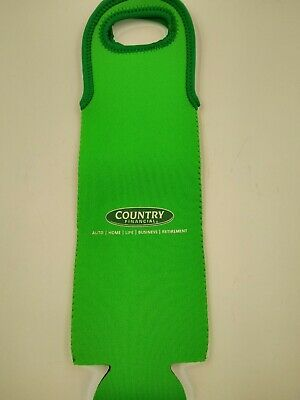 COUNTRY FINANCIAL Wine Bottle Carrier - Bag holds one standard single