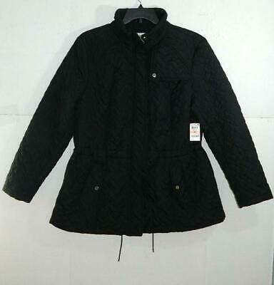 b857fe7feb1 CHARTER CLUB WOMEN S Plus Black Quilted Jacket NWT Size 2X MSRP  129 ...