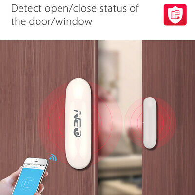 WiFi Door Sensor Smart 2 4GHz Wireless Window Open Close for