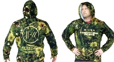 Twenty One 21 Pilots Hoody DESIGNER CAMO Sweater Trench Album All Sizes Blend