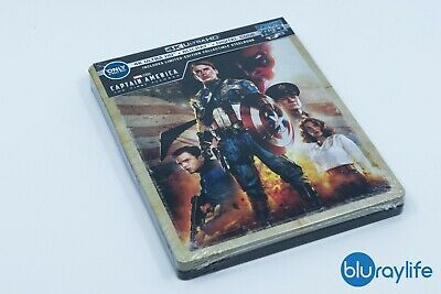 Captain America: The First Avenger 4K UHD + Blu-ray + Digital SteelBook Best Buy