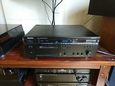 Philips FC 60 3 Head Cassette Deck Free Shipping!
