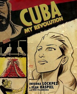 Cuba: My Revolution - Lockpez, Haspiel - Vertigo Graphic Novel - BRAND NEW